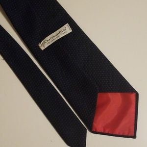 Dior Accessories - Vintage Christian Dior tie Blue on Blue Dots